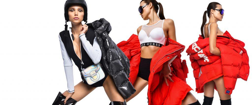 Логомания, суперобъем, яркие цвета: пуховики в этом сезоне выходят на авансцену моды