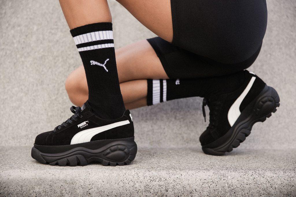 Два знаменитых бренда в мире кроссовок– Puma и Buffalo London – выпустили совместную коллекцию