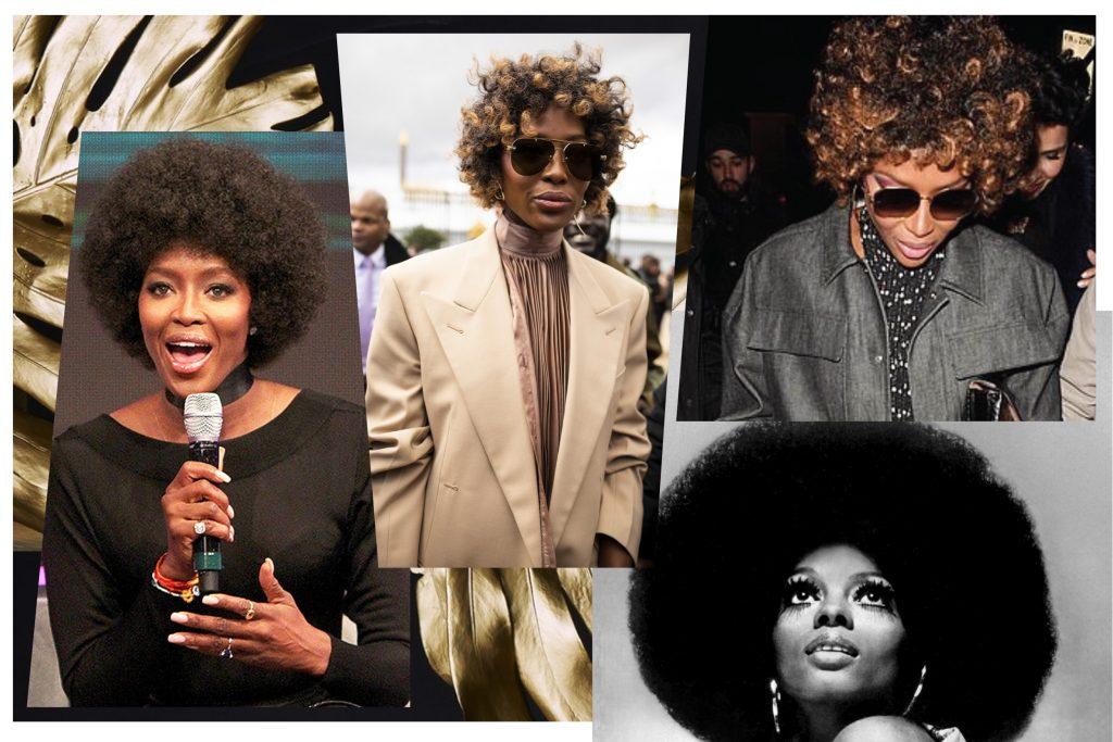Триумфальное возвращение афро–прически – спасибо Наоми Кэмпбелл!