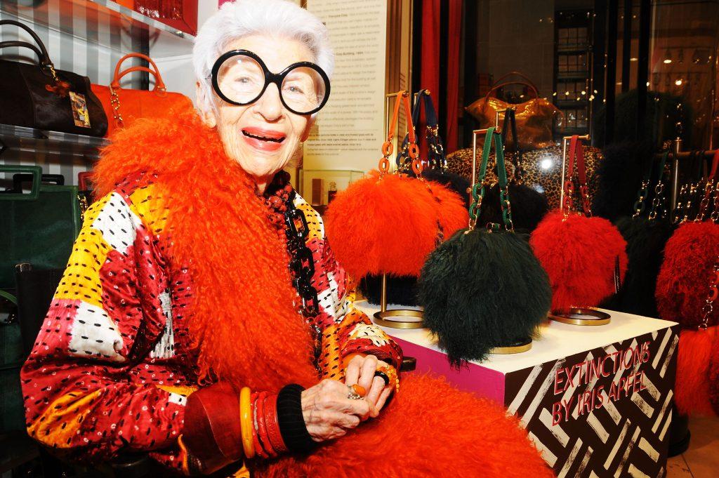 Айрис Апфель – топ-модель в 97 лет