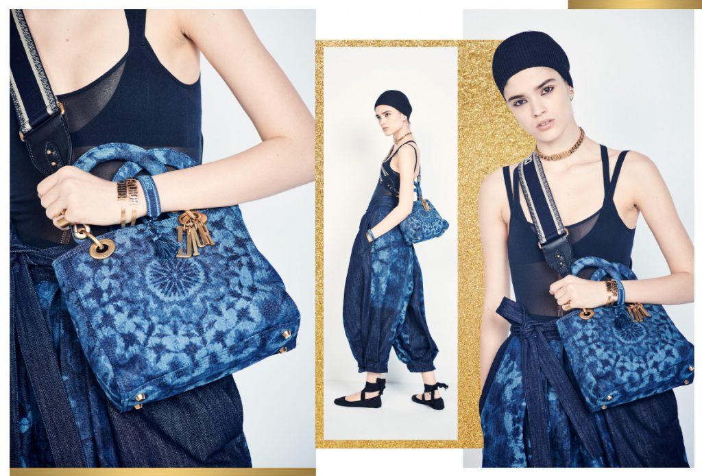 В новой сумке Lady Dior Kaleidoscopic сошлись все тренды весны