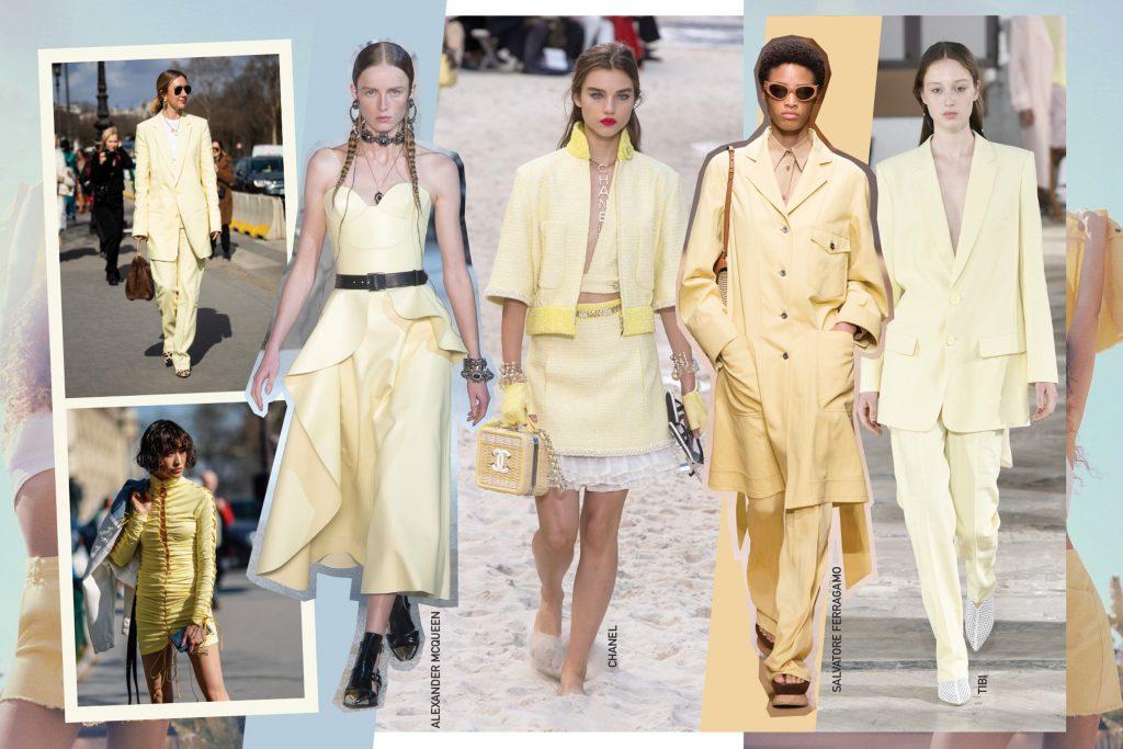 Лимонный – это новый белый, цвет весны 2019
