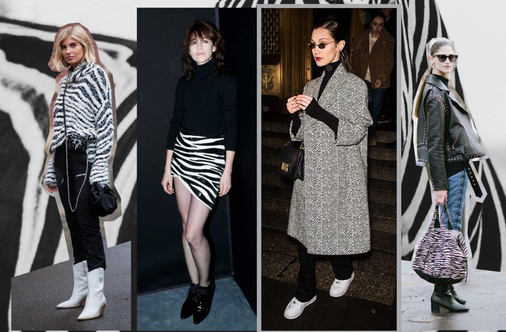 Зебра – новый модный принт из Африки