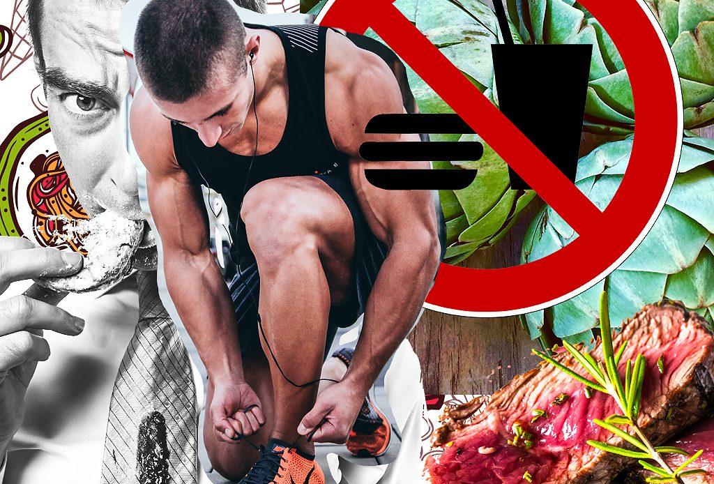 Как перестроить мужчину на правильное питание?