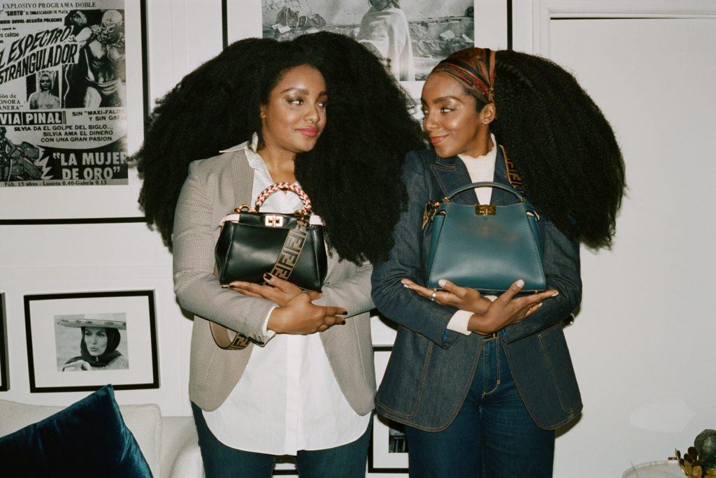 Сестры-близнецы Канн из Нью-Йорка стали героинями нового эпизода Fendi #MeAndMyPeekaboo