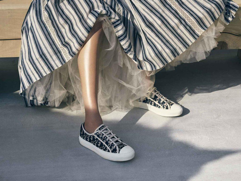 Кеды Walk'n'Dior с вашими инициалами – покупка с изюминкой