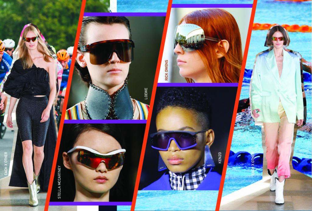 Солнечные очки, как у спортсменов, – must-have весны 2019