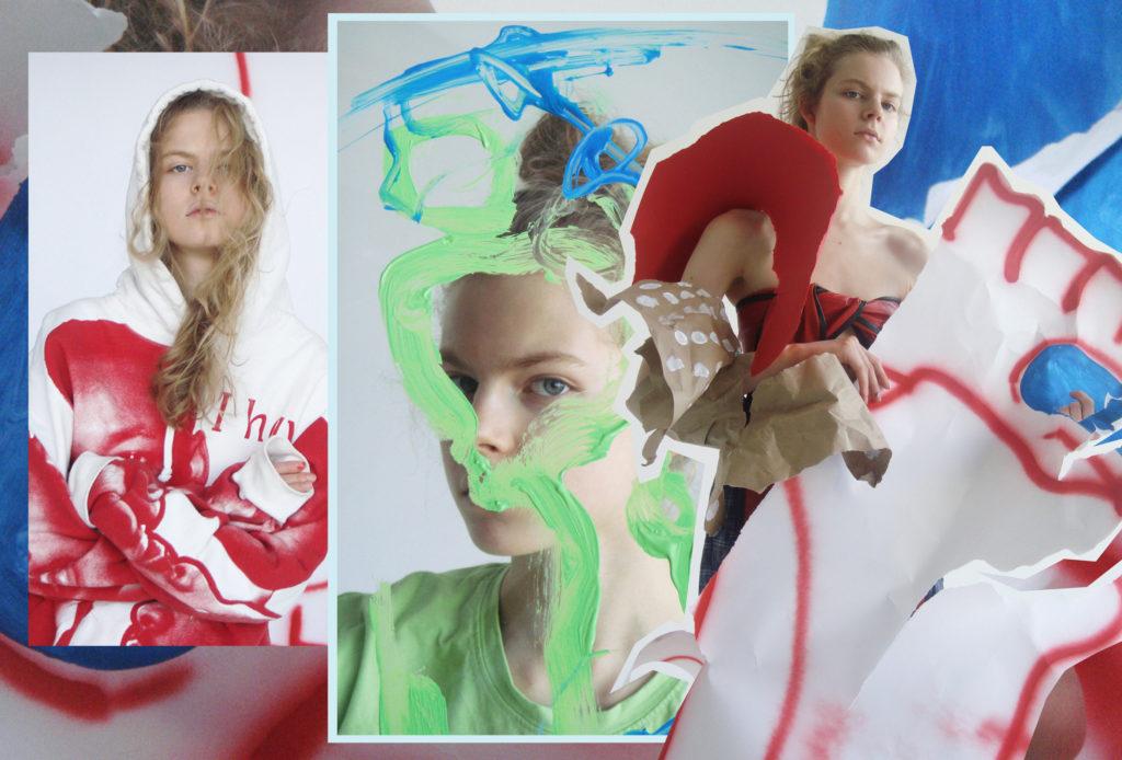Модель и художник Jolie Alien открывает свою вторую выставку в Москве