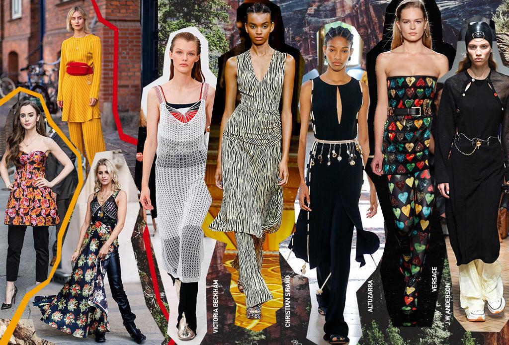 2d92d70ff95 Платье и брюки - новое модное сочетание. Как носить платье с брюками -  SportChic.ru