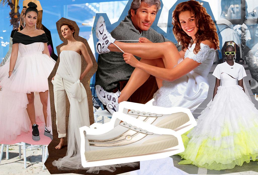 Выходить замуж в 2019 году – только в кроссовках!