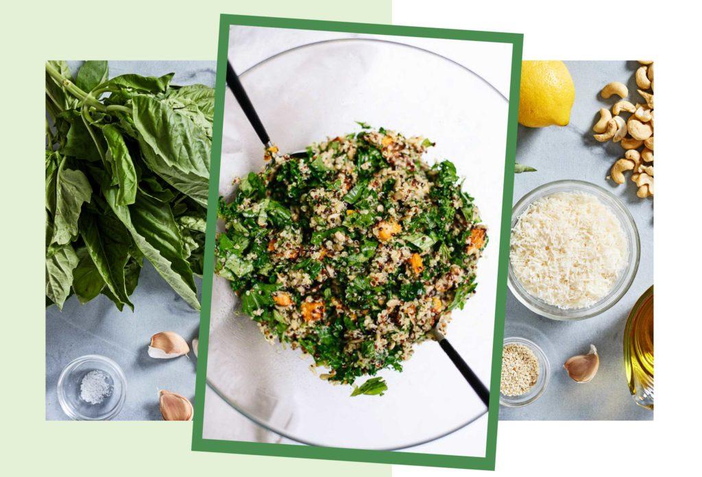 Как приготовить питательный и полезный салат из киноа