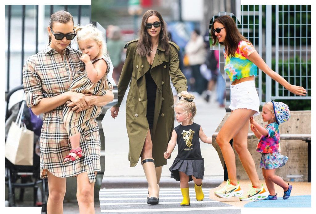 Family look: как одеваться маме с дочкой – знает Ирина Шейк
