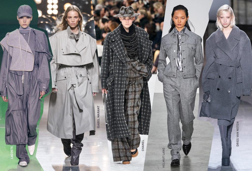 Серый – не значит скучный! Представляем самый модный цвет осени 2019!