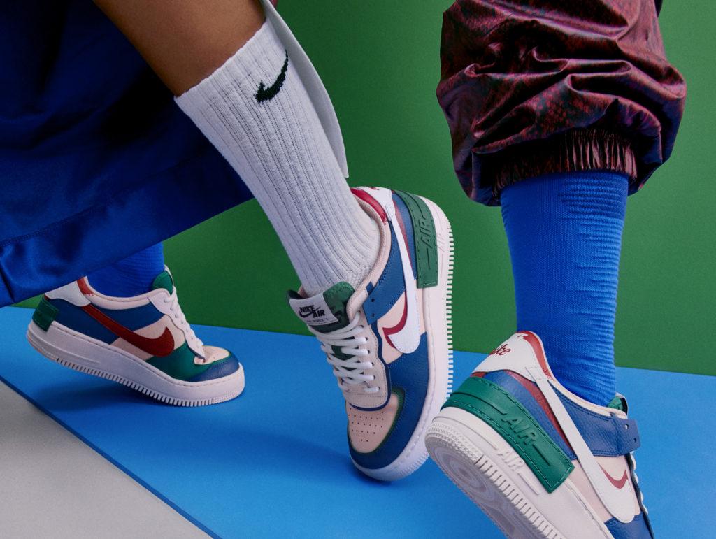 Вся власть – женщине: обновленные кроссовки Nike Air Force 1