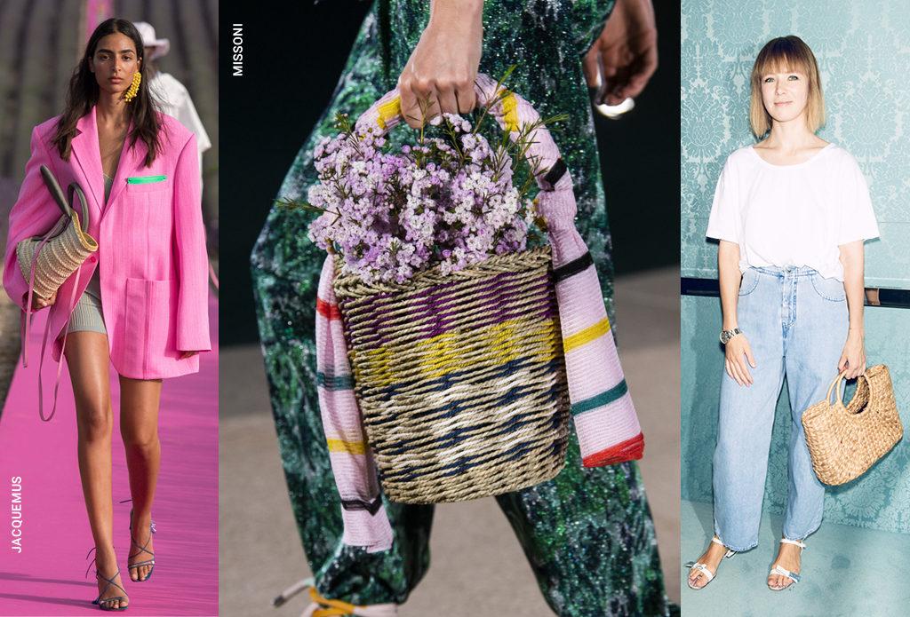 Плетеные сумки – и в пир, и в мир, и на улицы мегаполисов
