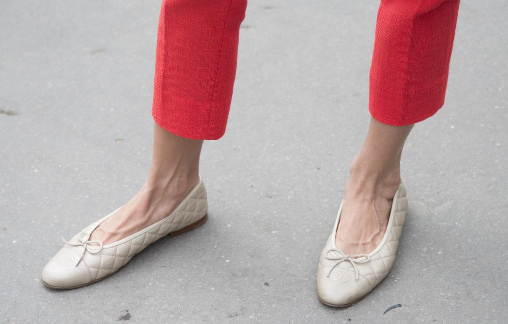 Балетки вернулись!  Любимая обувь модниц в 2020 году