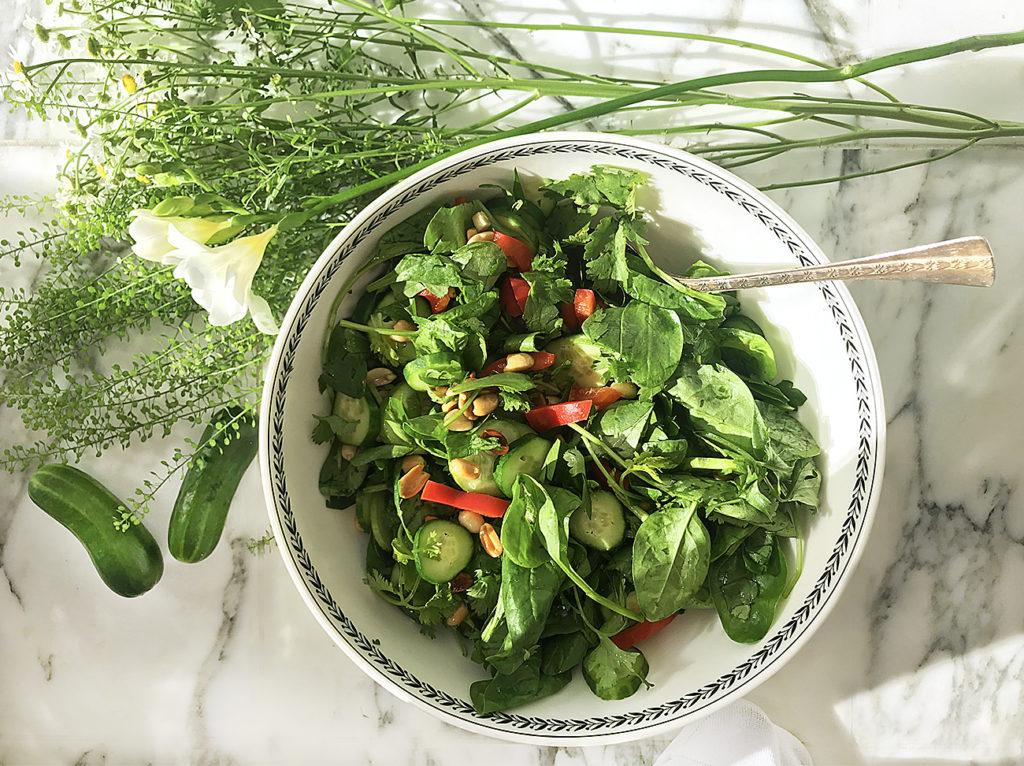 Тайский салат из огурцов – для летней трапезы