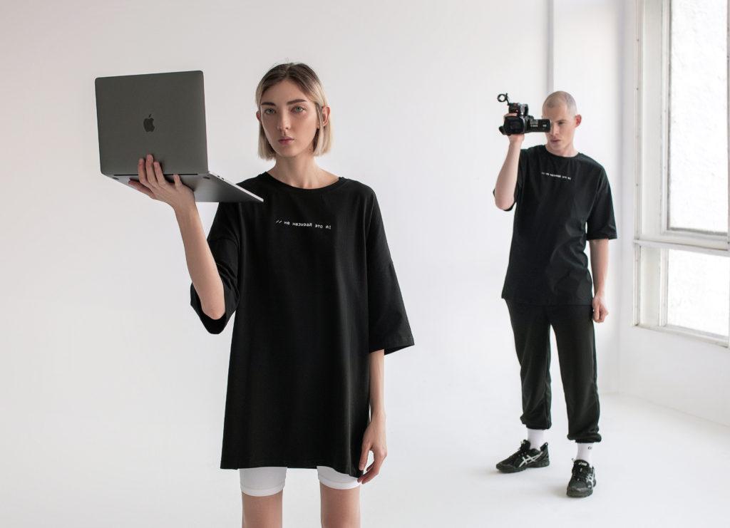 Матрица 2.0: новая коллекция футболок ZNWR для любителей технологий