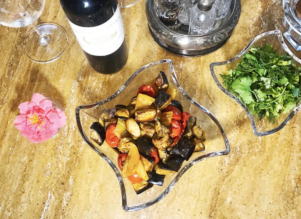 Рататуй – блюдо из сезонных овощей