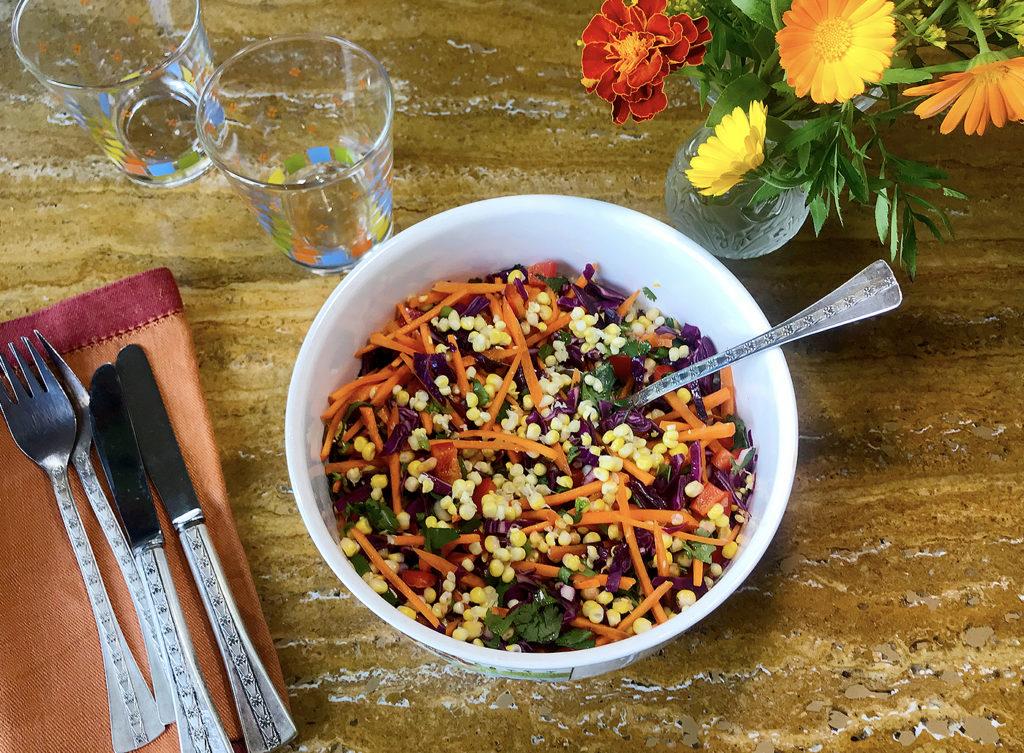 Три идеи салата для полноценного ужина