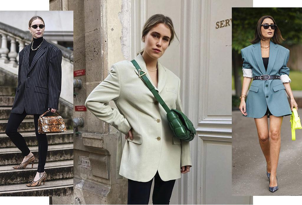 6 идей, с чем можно носить оверсайз-жакет – знаковую вещь осени-2020
