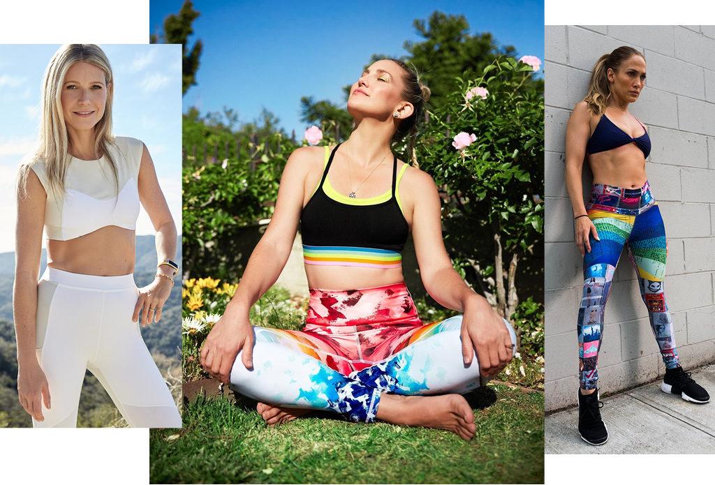 5 звезд, которые создают классную спортивную одежду