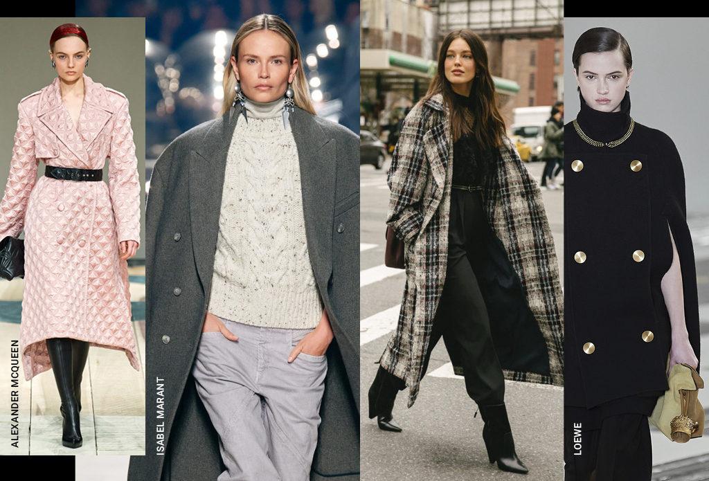 Cамые модные пальто на осень-2020