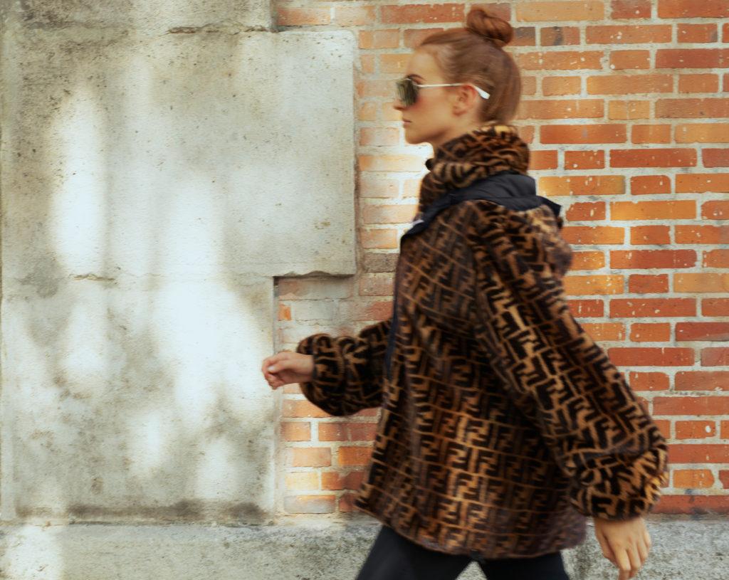 Бегущие под дождем: коллаборация Fendi и K-Way