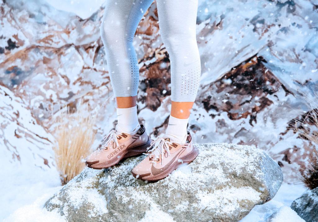 Не страшны ни снег, нислякоть: новые кроссовки Nike Pegasus Trail 2 Gore-Tex