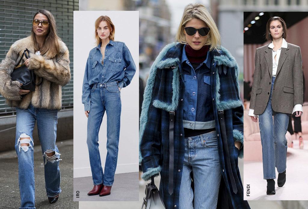 Какие джинсы актуальны зимой-2021: 3 самые модные модели