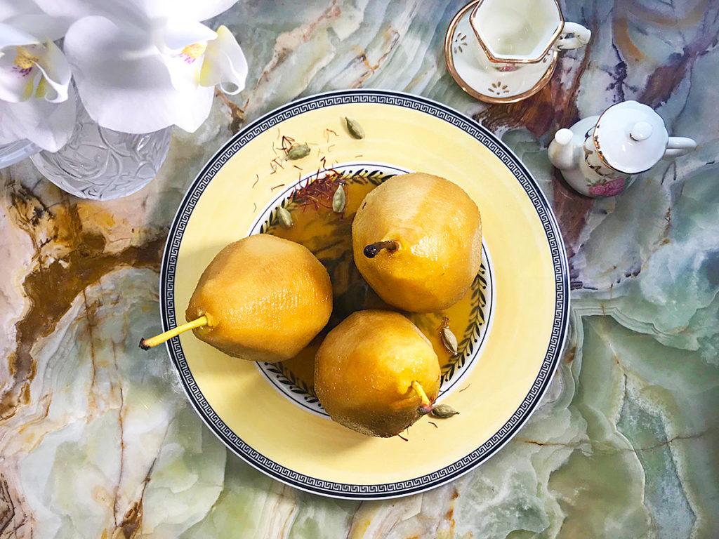 Груши в сиропе – легкий зимний десерт