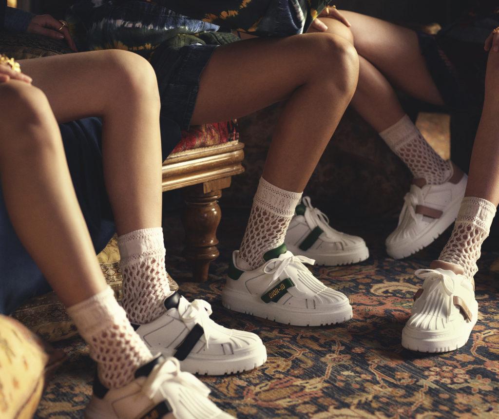 Новые кроссовки Dior-ID – для образа в стиле преппи