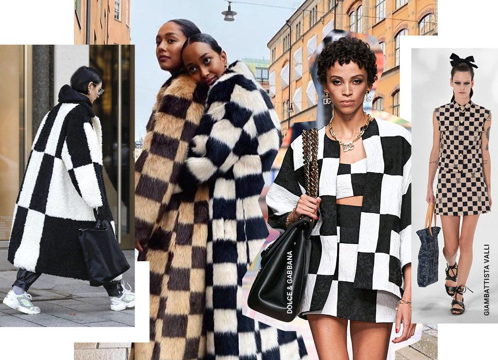 Ход королевы: шахматная клетка – модный принт весны-2021