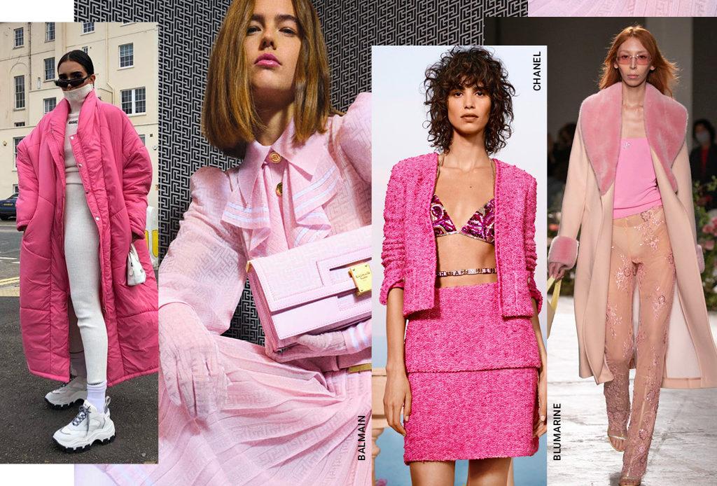 Розовый – новый черный, или Самый модный цвет 2021 года