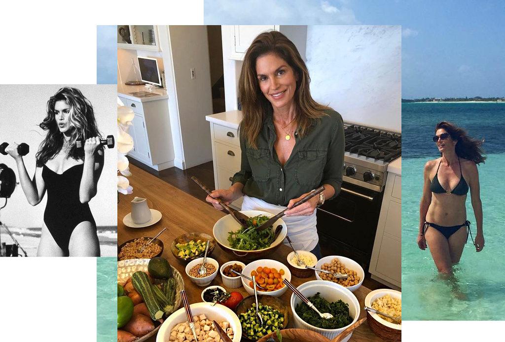 Синди Кроуфорд – о диете, тренировках и модельной карьере
