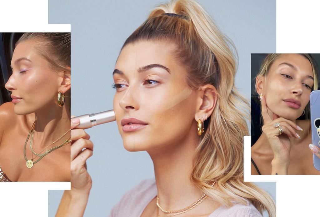 Как создать эффект сияющей кожи: 5 советов от визажиста Хейли Бибер