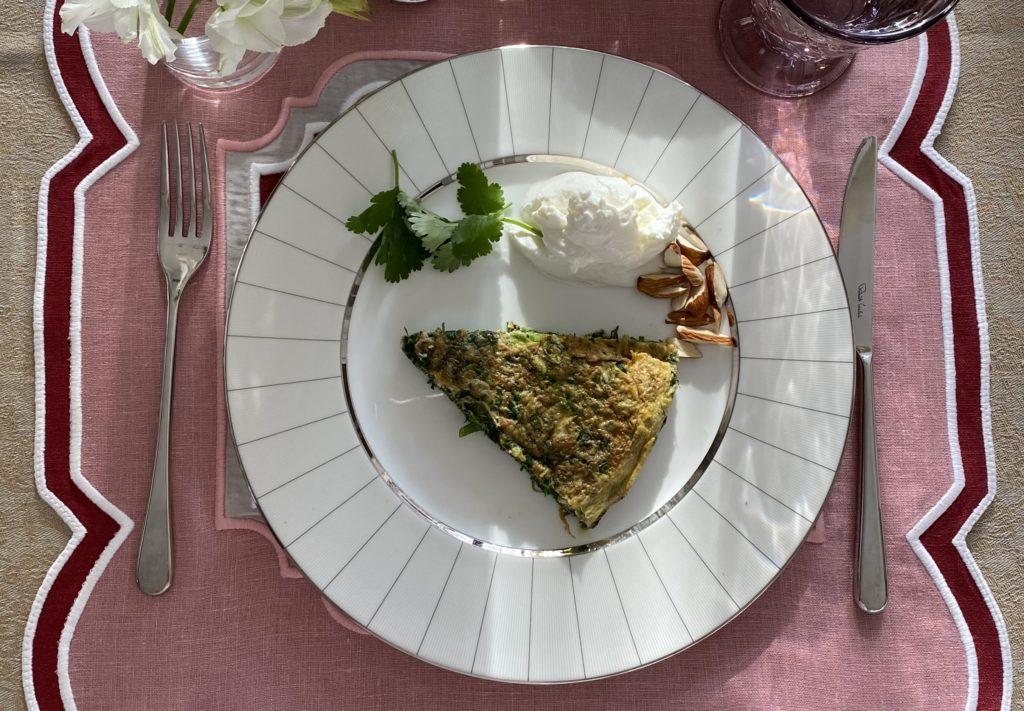 Омлет с зеленью от Катерины Мечетиной