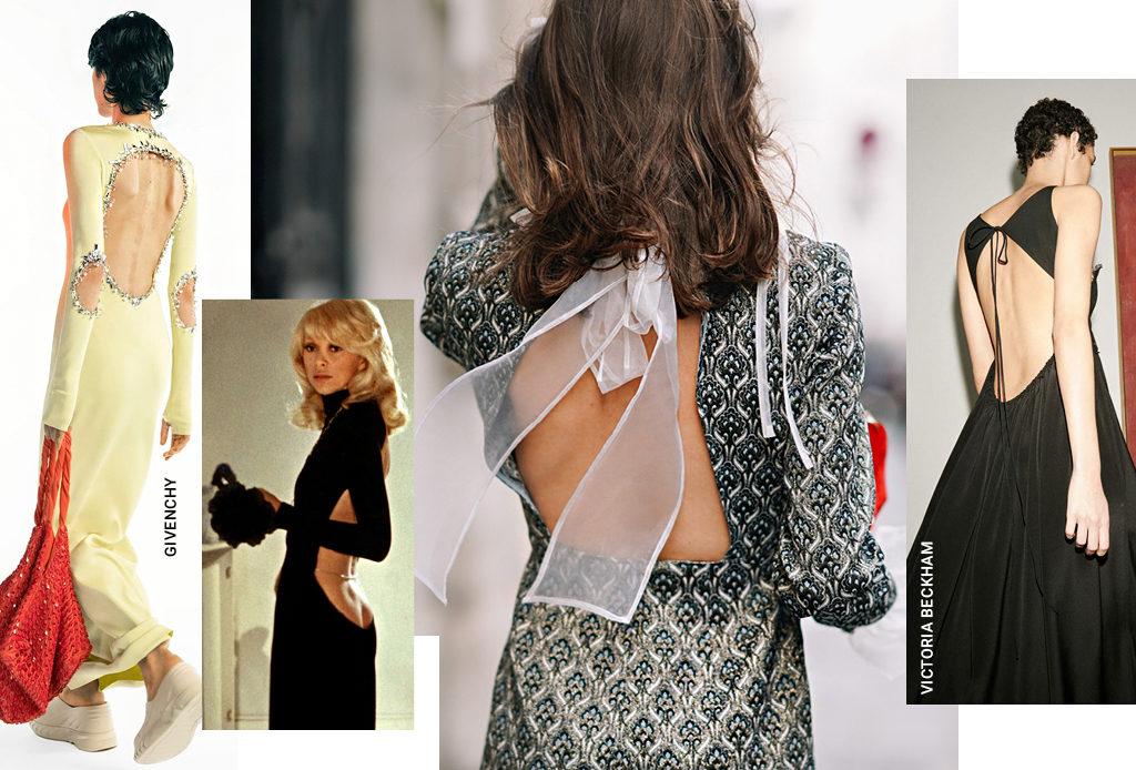 Платья с открытой спиной – лучший выбор для свидания в 2021-м