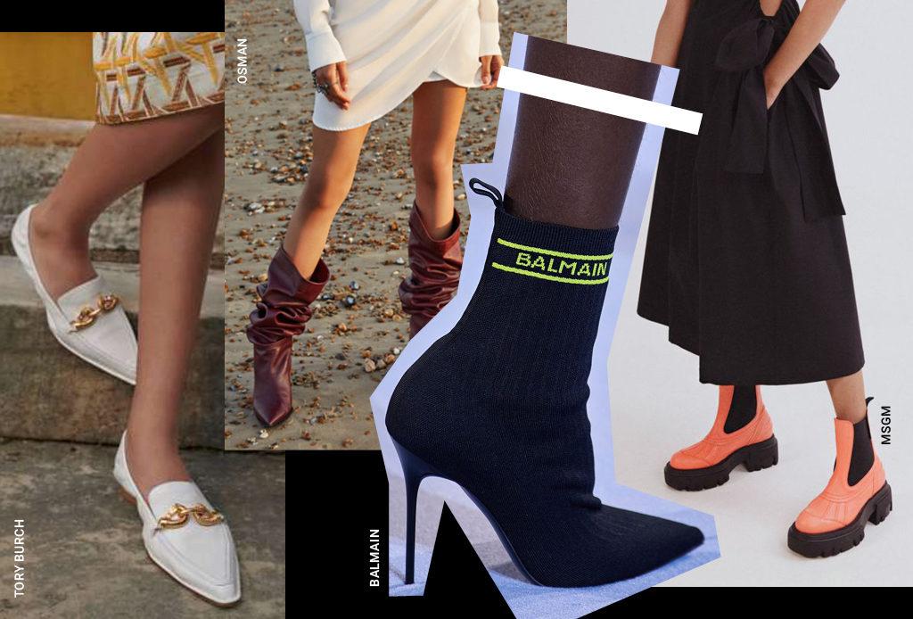Пять пар модной обуви на весну