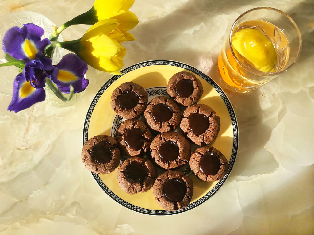 Шоколадные ватрушки – бабушкин рецепт в кето-версии
