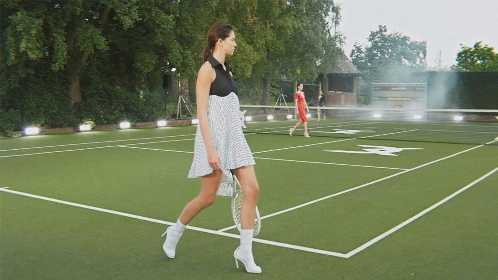 Теннис – вдохновение дизайнеров в этом сезоне