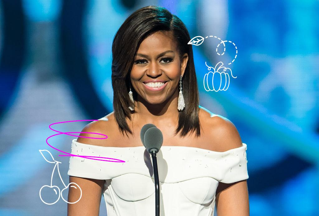 Как поддерживает себя в форме Мишель Обама?
