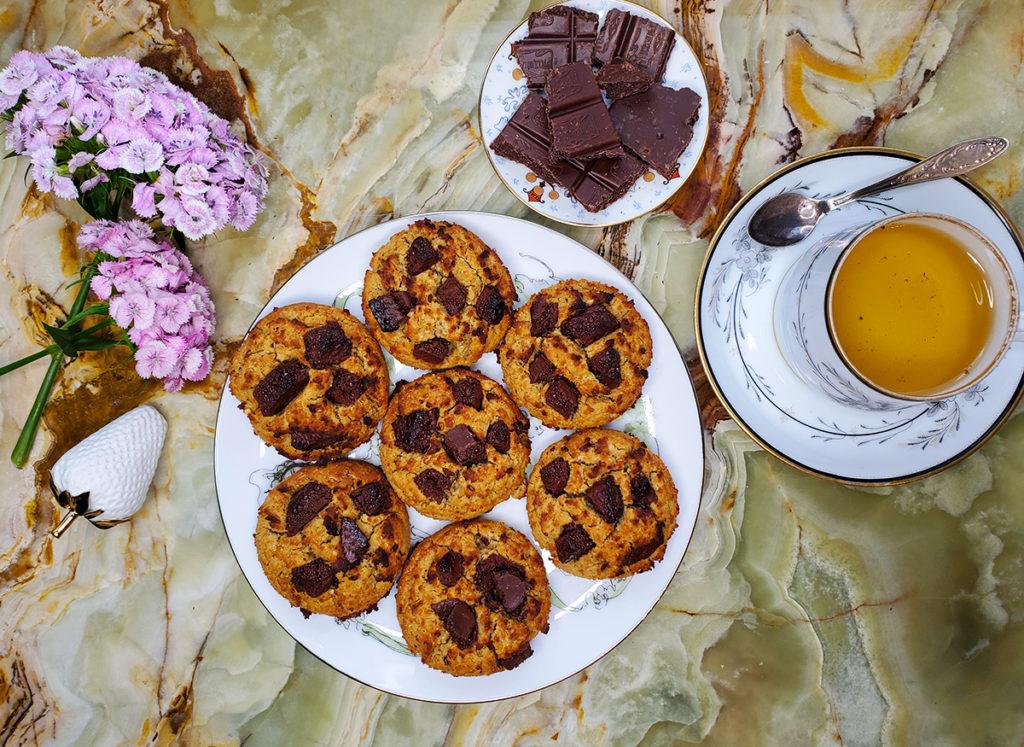 Шоколадное печенье из нута – для спортсменов и не только
