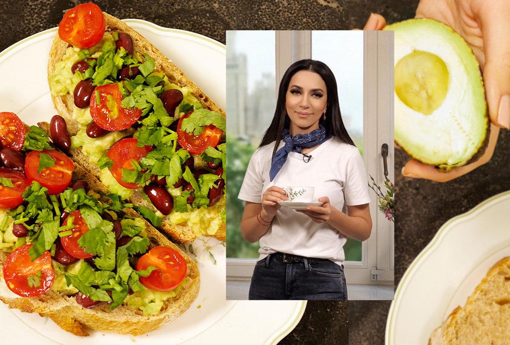 Рецепт от певицы Зары: брускетта с фасолью на завтрак