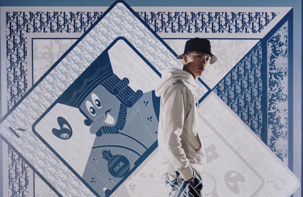 Игрок: капсульная коллекция Dior Men с художником Кенни Шарфом