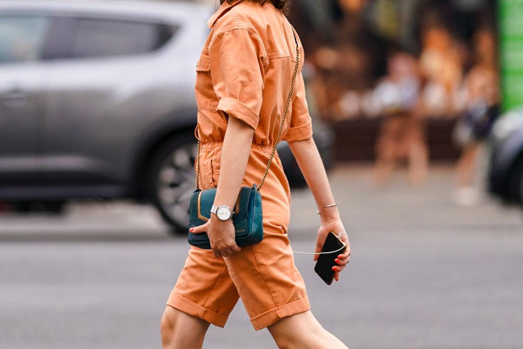 Комбинезон с шортами – для последнего месяца лета и предстоящей осени