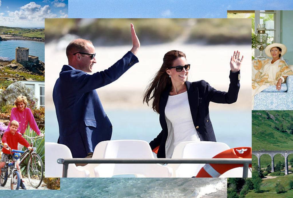 Куда британская королевская семья отправляется на летние каникулы