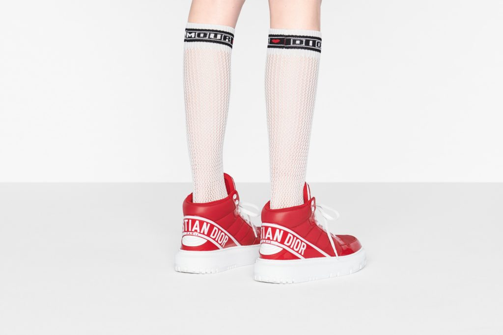 Движение вверх: новые кроссовки Dior D-Player