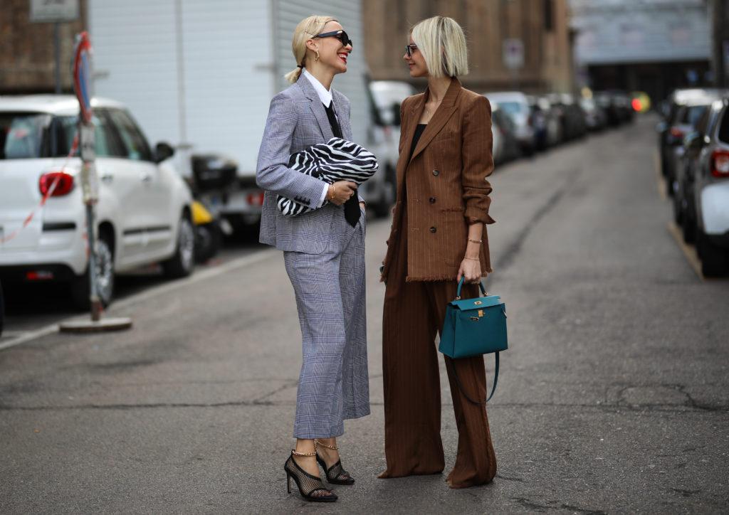 Брючный костюм – модная идея на каждый день и на выход
