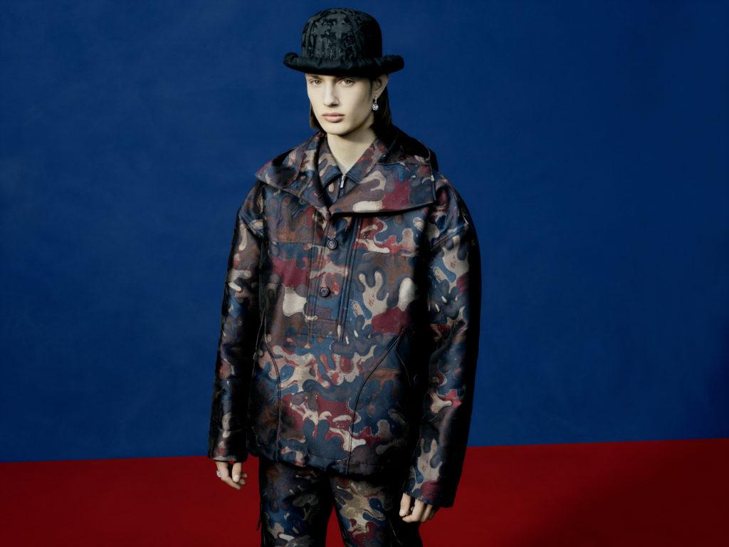 Коллекция Dior Men с художником Питером Дойгом